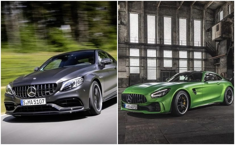 Mercedes-AMG C 63 Coupe And AMG GT R India Launch Highlights; Price, Features, Specifications, Images