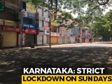 "Video : What Sunday's ""Complete Lockdown"" Looked Like In Bengaluru"