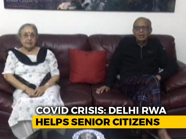Video : South Delhi Residents' Body Forms Support System For Senior Citizens