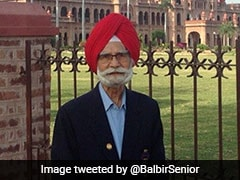 Balbir Singh Sr, Hockey Legend, Dies
