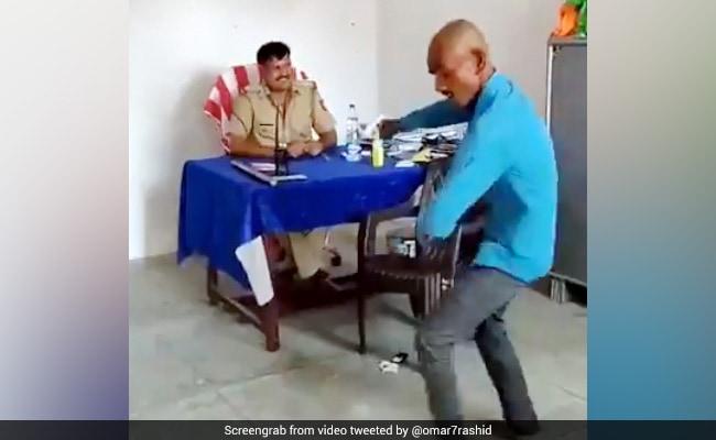 लॉकडाउन में बाहर निकला तो यूपी पुलिस ने कराया सपना चौधरी के गाने पर डांस, देखें Viral Video