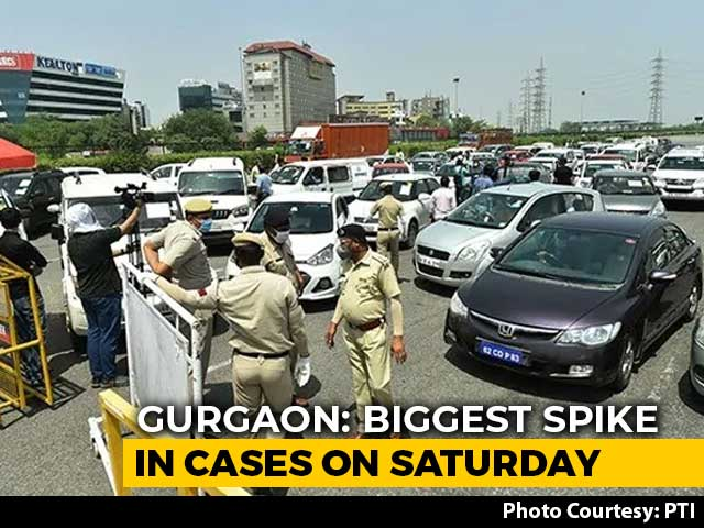 Video: Gurgaon Saw More COVID-19 Cases In 3 Days Than Two Months