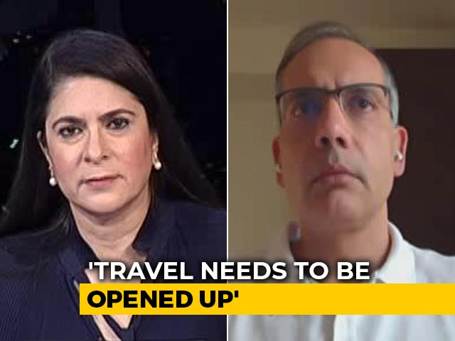 Video : Travel, Tourism Industry Could Face Loss Of Up To Rs 5 Lakh Crores: MakeMyTrip Founder