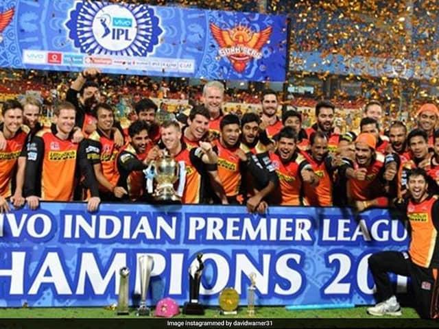 """Was A Big Family Effort"": David Warner On SunRisers Hyderabads Maiden IPL Title In 2016"