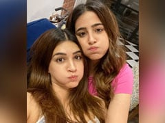 """Pics From Kriti And Nupur Sanon's """"Squishy Quarantine"""" Are Too Cute To Miss"""