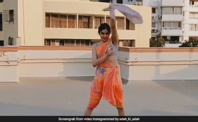 Adah Sharma's Replacement For A Dysfunctional Washing Machine Was This