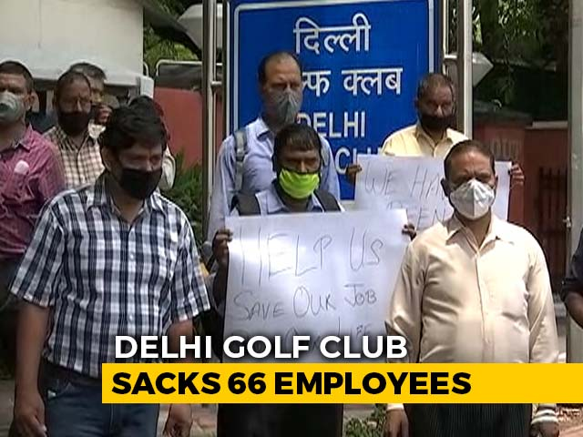 Video : 66 Staff In One Of India's Most Exclusive Golf Clubs In Delhi Fired Amid Pandemic