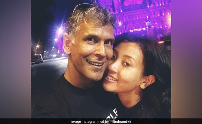 'Friday Faces': Milind Soman's Pics With Ankita Konwar Are All About Love