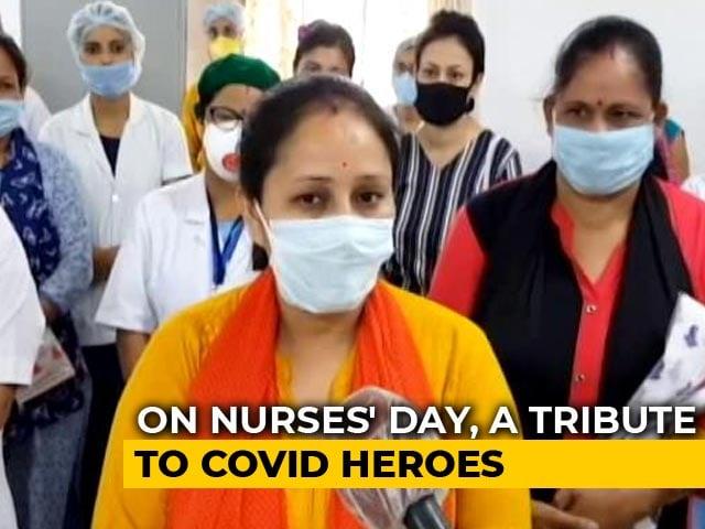 Video : Stop Stigmatising Us, COVID-19 Nurses In Assam Hospital Urge On Nurses Day