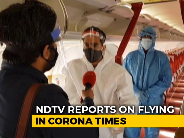 Video : Flying In The Time Of Coronavirus: NDTV On Board A Flight