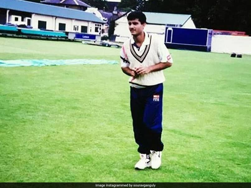 Sourav Ganguly Gets Nostalgic, Shares Throwback Photo Of His Test Debut