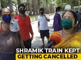 """Video : """"Can't Return To Rented Homes"""": Mumbai Migrants Claim Trains Cancelled"""