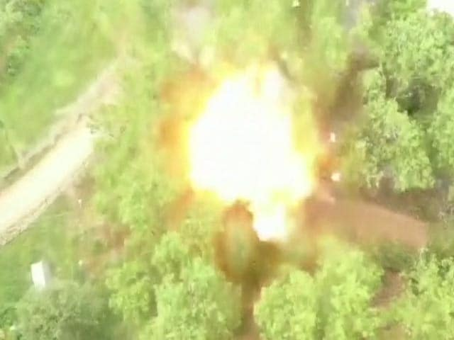 Video : Watch: Controlled Explosion Rips Car Seized From Terrorist In Pulwama