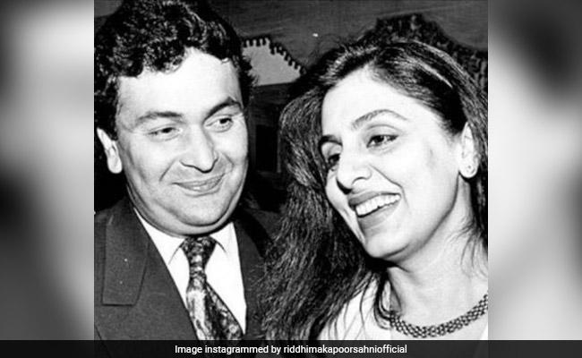 Rishi And Neetu Kapoor In Priceless Throwback Pics Shared By Daughter Riddhima