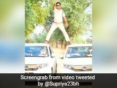 लॉकडाउन में हीरो बन रहा था SI, अजय देवगन की तरह किया स्टंट तो पुलिस ने लिया ऐसा एक्शन, देखें Video