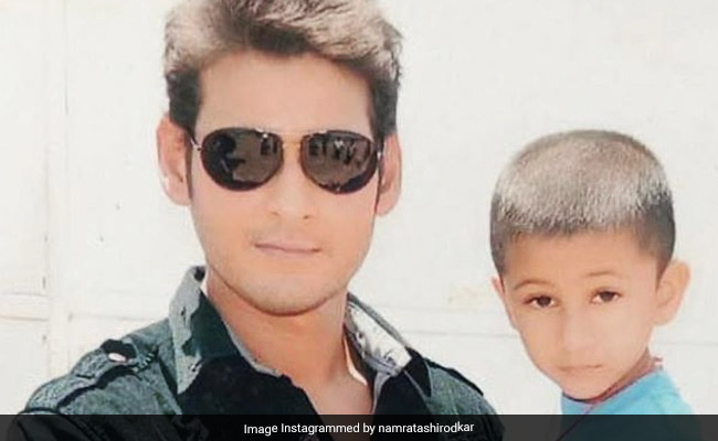 Namrata Shirodkar's Throwback Pic Of Mahesh Babu And Son Gautham Is 'Just Too Adorable