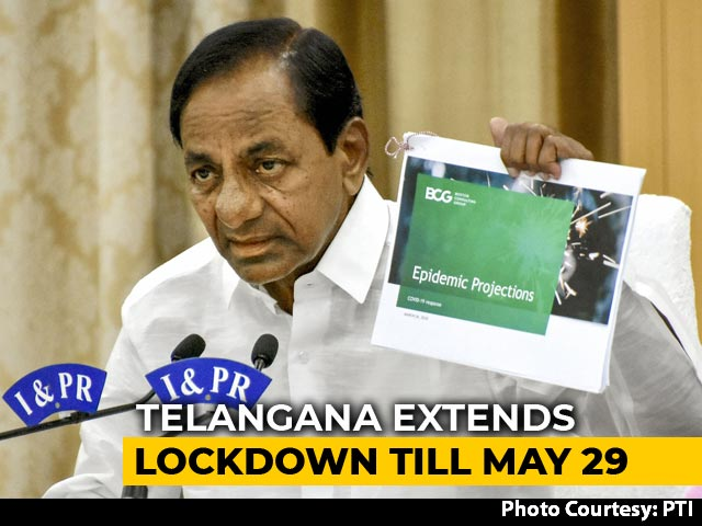 Video : Coronavirus Lockdown In Telangana Till May 29, Says Chief Minister KCR