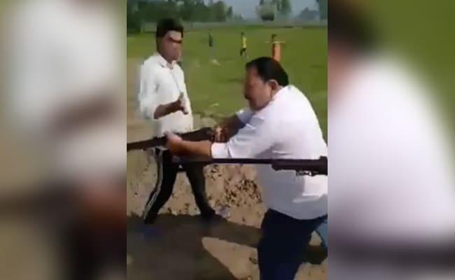 Samajwadi Party Leader, Son, Shot Dead On Camera In UP