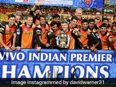 """Was A Big Family Effort"": David Warner On SunRisers Hyderabad's Maiden IPL Title In 2016"