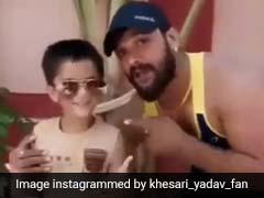 Bhojpuri Video: खेसारी लाल यादव ने बेटे के साथ किया जबरदस्त अंदाज में डांस, लॉकडाउन में Viral हुआ Video