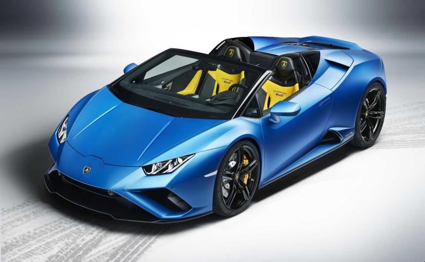 Lamborghini Huracan EVO RWD Spyder Unveiled