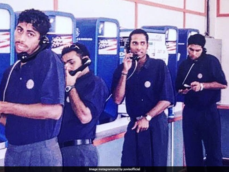"Yuvraj's ""Throwback To Days Without Mobiles"" Will Tickle Your Funny Bone"
