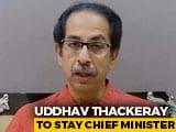 Video : Uddhav Thackeray To Enter Maharashtra Legislative Council Unopposed