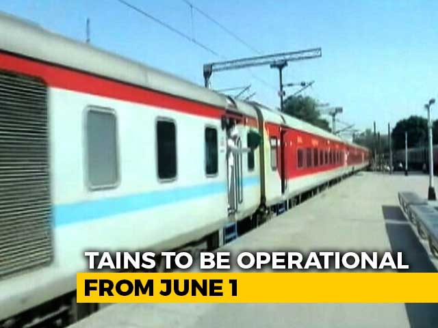 Video : Online Bookings Open Today For Passenger Trains From June 1