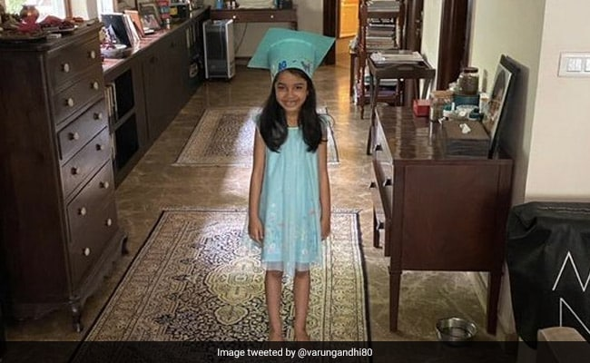 Varun Gandhi's Post For Daughter, Who Graduated As The Youngest In Class