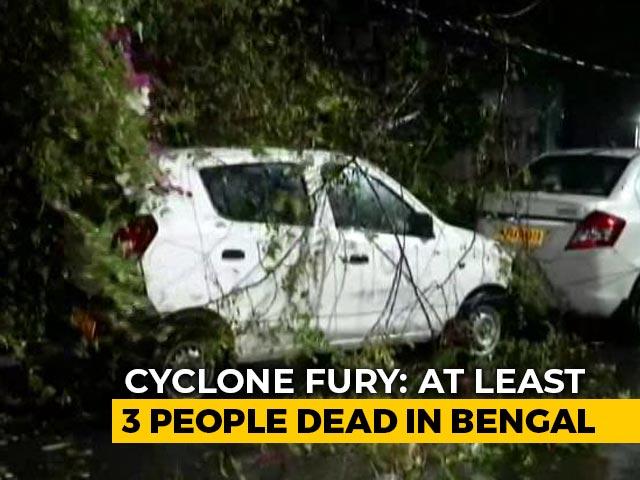 Video : 3 Dead As Cyclone Amphan Batters Bengal, Buildings Damaged In Kolkata