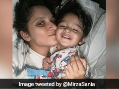 """We Woke Up Like This"": Sania Mirza Posts Adorable Picture With Son Izhaan"