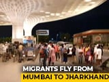 Video : Law School Alumni, IIT Bombay Help 180 Migrants Fly To Jharkhand