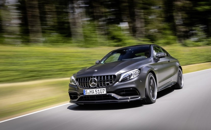 The new Mercedes-AMG C 63 Coupe is the range-topping model under the C-Class