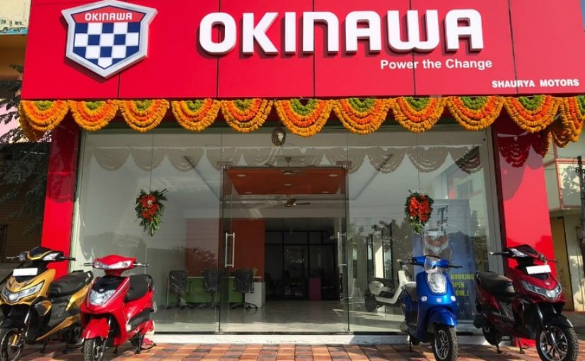 Okinawa will deliver the electric scooter to the customer's doorstep in Bengaluru at no extra cost