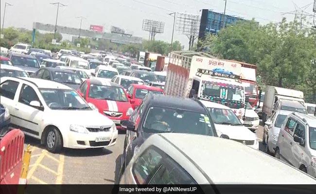 Big Jam At Delhi-Noida Border On Day 1 Of Lockdown 4 As Curbs Ease