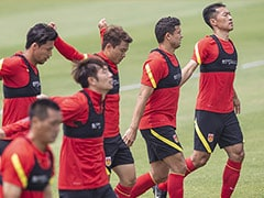"Chinas Football Team ""More United"" Under Coronavirus"