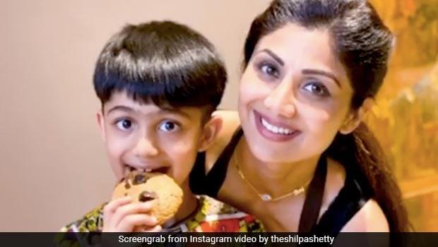 Shilpa Shetty & Viaan Raj Kundra Bake Nutritious Cookies At Home, Heres How You Can Too!