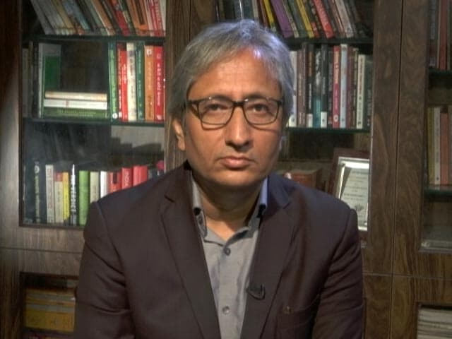 """Video : """"Was Told Middle Class Will Be Bored"""": Ravish Kumar On His New Show"""