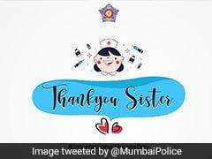 """International Nurses Day: Mumbai Police's """"Munna Bhai"""" Tribute To Nurses"""