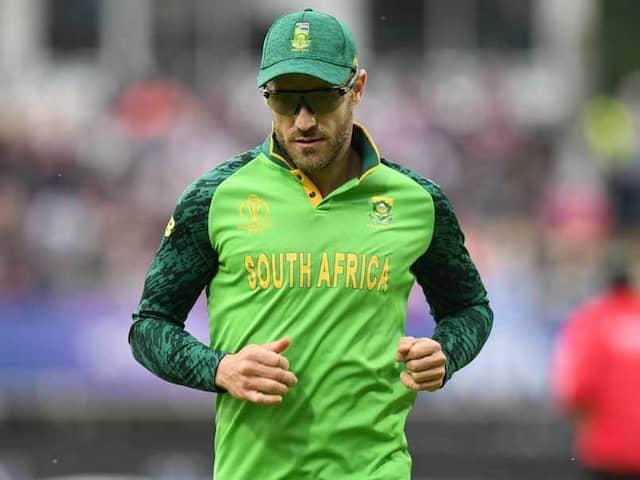 SA vs ENG: Faf Du Plessis Rested For 3-Match ODI Series