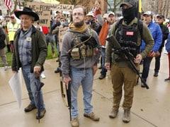 """Men With Rifles Yelling At Us"": US Senator As Protesters Seek Lockdown End"