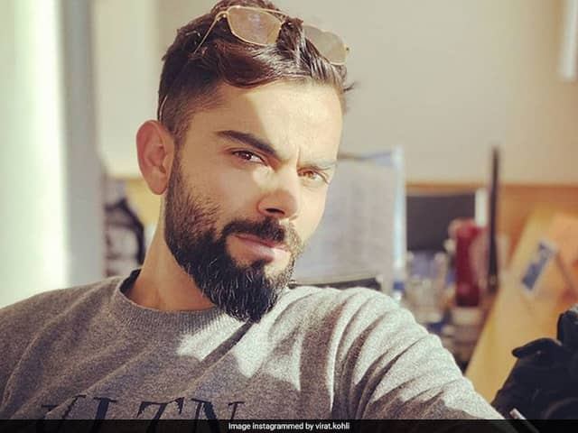 """Virat Kohli Trolls Kevin Pietersen For """"Shave Your Beard Off"""" Comment On Throwback Picture"""
