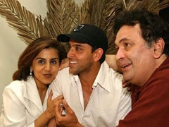 """Felt God Damn Amazing To Think Rishi Kapoor Liked My Work"": Hrithik Roshan On His ""Chintu Uncle"""