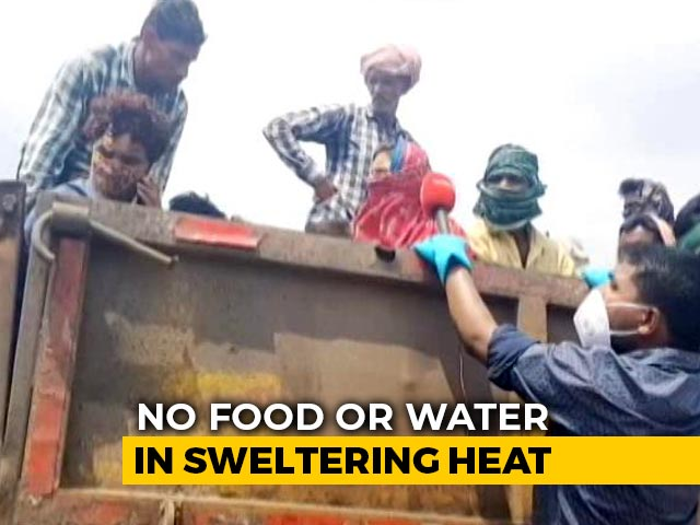 Video : No Food, No Water, Migrants Packed In Truck's Cargo Hold Travel 800 Km