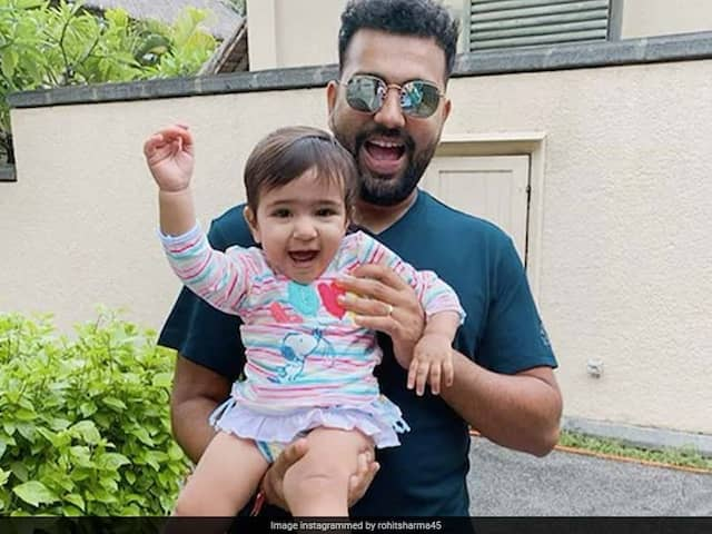 Rohit Sharma Shares Adorable Picture Of His Daughter Samaira On Instagram