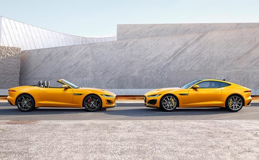 2020 Jaguar F-Type Facelift Launched In India; Prices Start At Rs. 95.12 Lakh