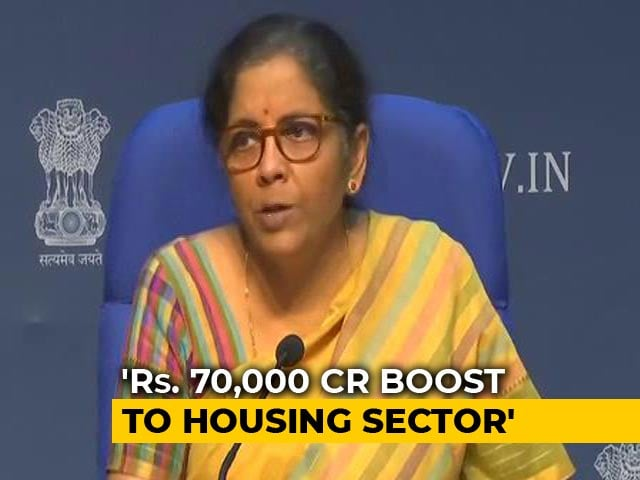 Video : Centre Extends Subsidy For Middle Class, Says Will Boost Housing Sector