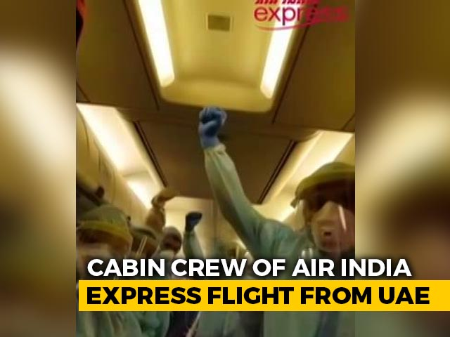 Video : Inside The Special Air India Flight That Brought Indians Home From Gulf