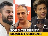 Video : Top 5 Celebrity Moments On Carandbike