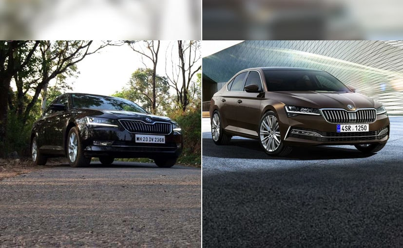 The 2020 Skoda Superb gets updated features and revised styling.
